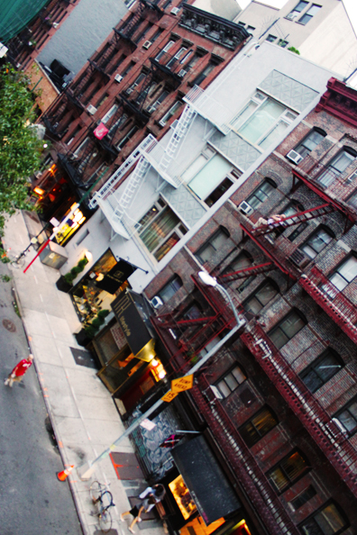 Fire escapes, please lead me to a sexy shirtless neighbor.