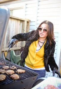 have a bbq in february?!
